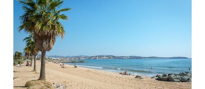 plages fréjus Côte Azur france