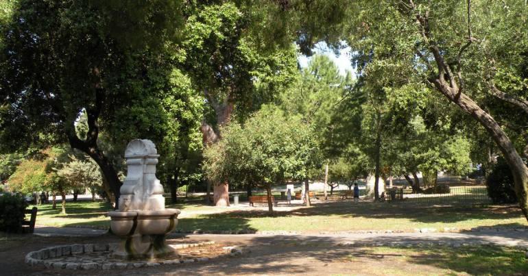 Parc colline chateau Nice