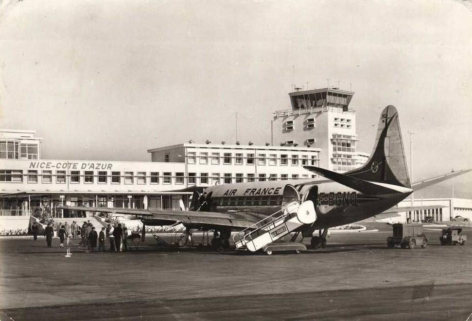 aeroport nice historique